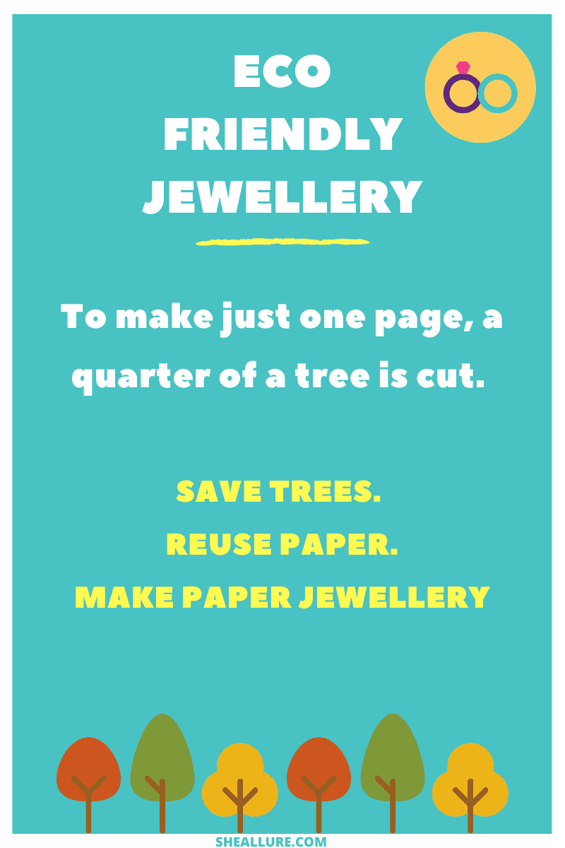 Can paper jewellery be made at home