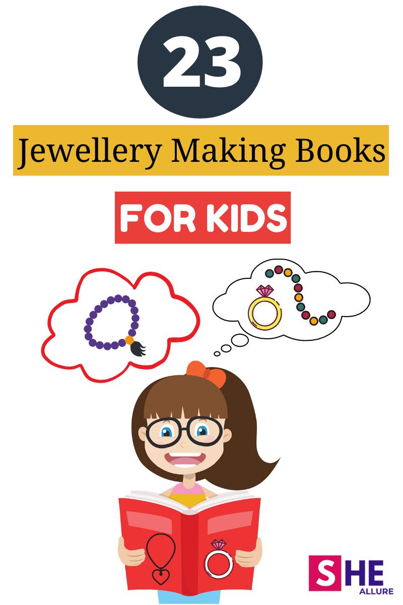 23 Jewellery Making Books for Kids