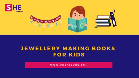 Jewellery making books for kids
