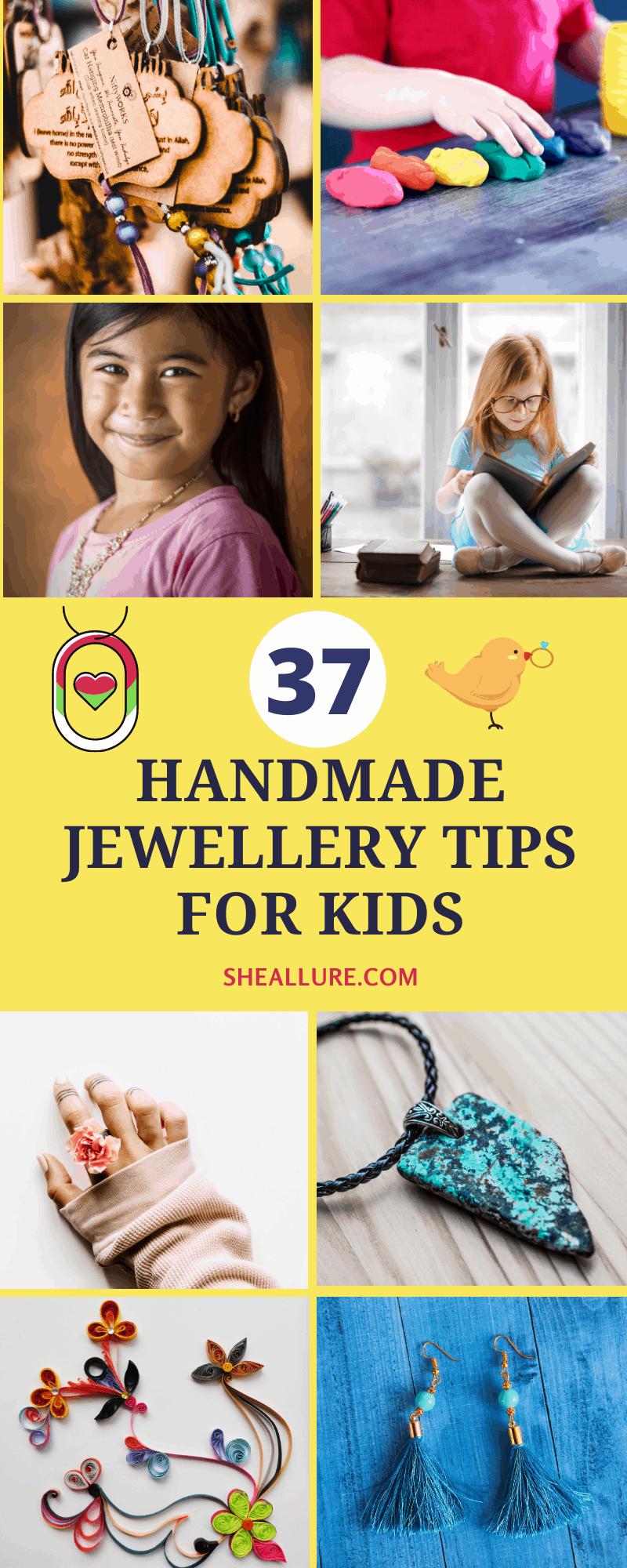 HANDMADE JEWELLERY TIPS FOR KIDS