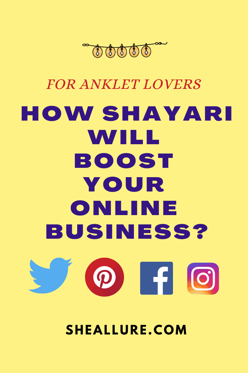 Shayari on Anklets