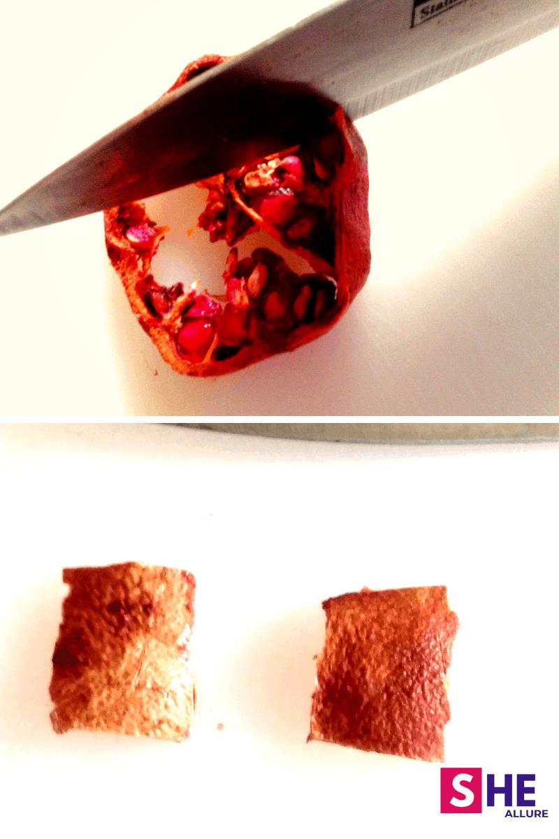 Cut Dried Pomegranate