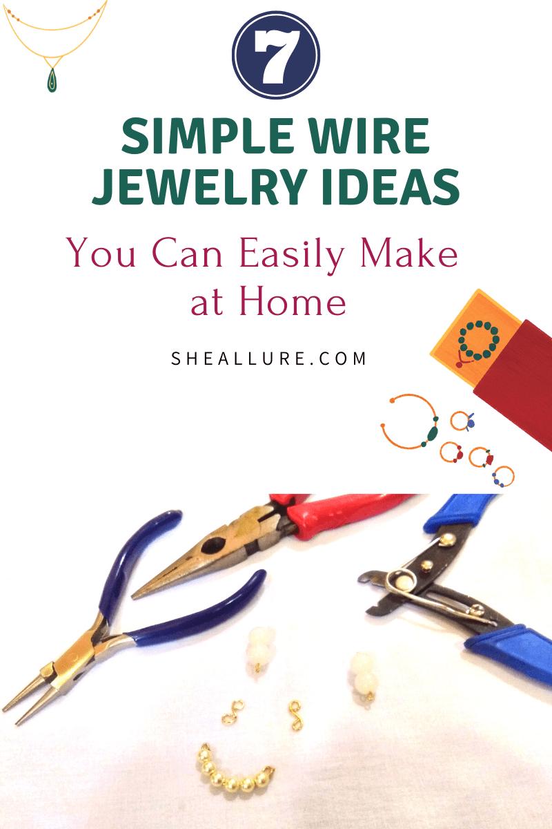 Simple Wire Jewelry Ideas