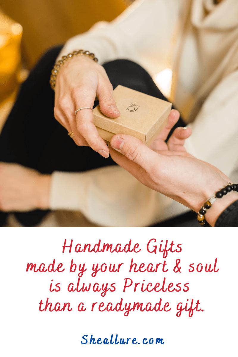 Reasons to gift handmade jewellery