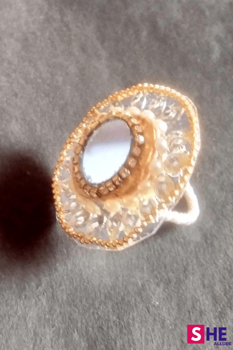 diy mirror wooden ring image